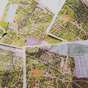 carte orientation langrune saint aubin